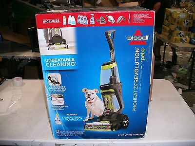 bissell proheat 2x revolution pet upholstery carpet deep cleaner bundle 1548p