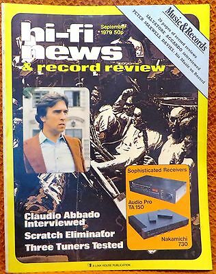 Vintage Hi-Fi News & Music Review Magazine September 1979 - Free Post Mainland