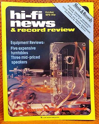 Vintage Hi-Fi News & Music Review Magazine October 1979 - Free Post Mainland