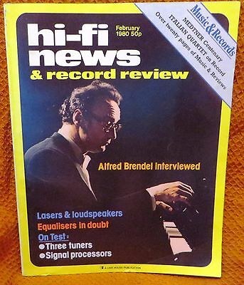 Vintage Hi-Fi News & Music Review Magazine February 1980 - Free Post Mainland