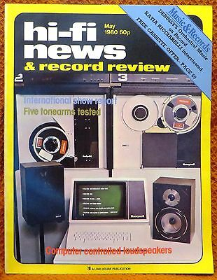 Vintage Hi-Fi News & Music Review Magazine May 1980 - Free Post Mainland