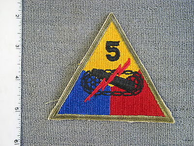 U S Army issue 5th Armored Division from Action Embroidey brand new never issued