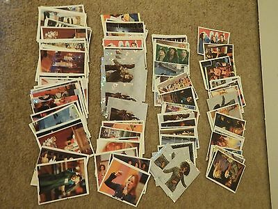 Joblot bundle The Spice Girls Movie 1997 Magic Box sticker cards for album