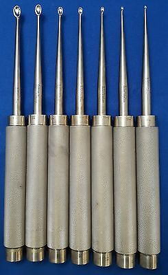 Symmetry Spine Ortho Curette Set of 7 - Reference: 23-2570 to 23-2577