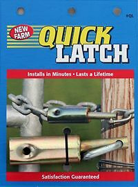 Latch Gate Quik