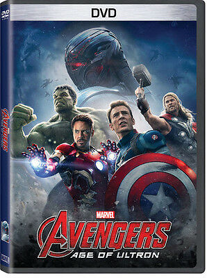 Marvel's Avengers: Age Of Ultron (2015, DVD NUOVO) (REGIONE 1)