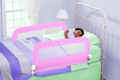 Childs Bed Guard Double Bedside Foldable Universal Rail Fits Cot & Single Size
