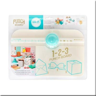 American Crafts We R Memory Keepers 123 Punch Board 662530