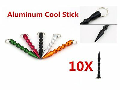 10X Aluminum Alloy Pen-shaped Kubaton Cool Stick Self-defense Supplies Lot MC