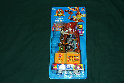 WB Looney Tunes Pez Toy Wile E Coyote NEW MISP 1998