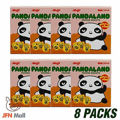 MEIJI Pandaland Biscuit 70g x 8 packs