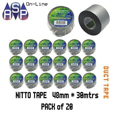 Nitto Denko Duct Tape 48Mm X 30M Pack Of 20