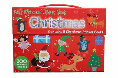 My Christmas Sticker Box Gift Set 100 Stickers Included