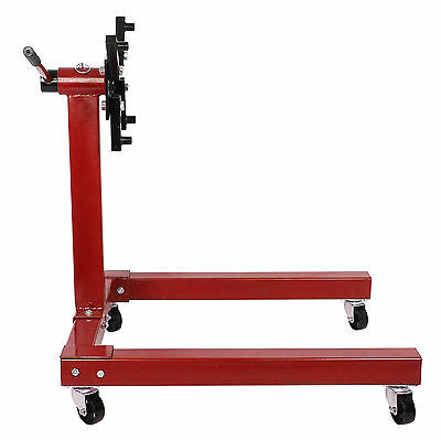 Heavy Duty Swivel Transmission Gearbox Engine Jack Stand Support 1250lbs 570KG