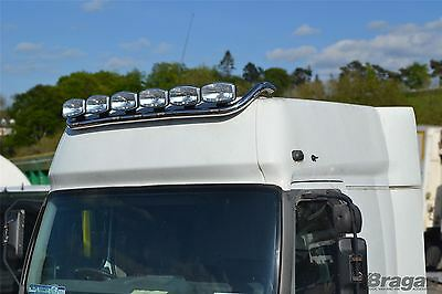 Renault Magnum Stainless Steel Roof Light Top Bar Truck Lorry