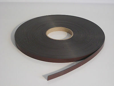 PREMIUM MAGNETIC ADHESIVE TAPE A. 12.7mm x 1.5mm. VERY STRONG. UK SELLER