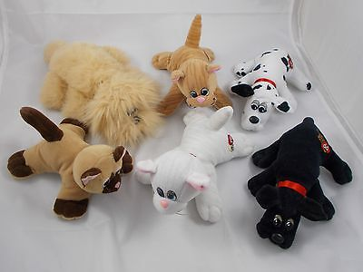 Pound Puppies Dogs & Purries Cats Plush Lot