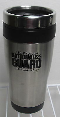 Pennsylvania National Guard Military Stainless Steel Travel Mug- No Spill