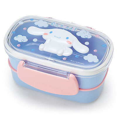 Cinnamoroll Relief W 2-stage Lunch Case Bento Box ❤ Sanrio Japan