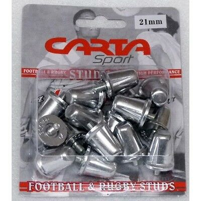16 X Replacement Rugby Union League Aluminium Studs Standard Thread