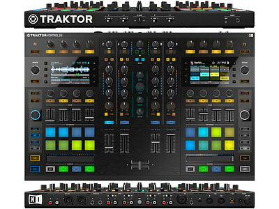 "NATIVE INSTRUMENTS Traktor Kontrol S8  ""Stems"" ready"
