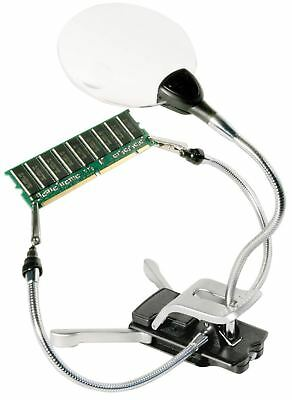 Bresser LED-Handcraft Magnifier 2x/4x 88mm