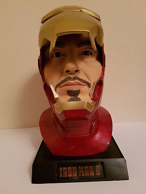 Iron Man Mk 42 Tony Stark Büste 1:1 Lifesize