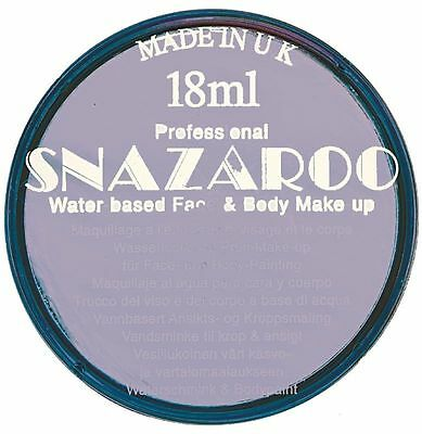 18ML Snazaroo lilac face and body paint
