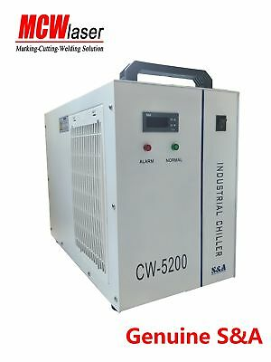 Industrial Water Chiller Cool a single 8KW Spindle CW-5200DH 110V 60HZ