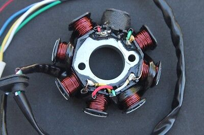 Stator Magneto AC 8 Pole 5 Wire GY6 150 157QMJ Scooter Moped ATV ~ US Seller