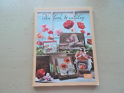Stampin' Up! Idea Book & Catalog 2011-2012 Card Layouts Techniques 240 Pages NEW
