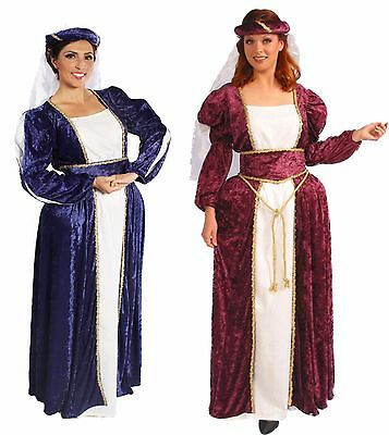 Queen Ann Adult Renaissance~ Theme Wedding~Faire~Larp~Cosplay~ Halloween Costume