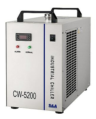 Industrial Water Chiller Coolcool single 50W-75W laser diode CW-5200AI 220V 50HZ