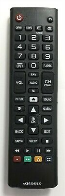 New USBRMT Remote AKB74475433 For LG Smart TVs sub AKB75095330 AKB73975702