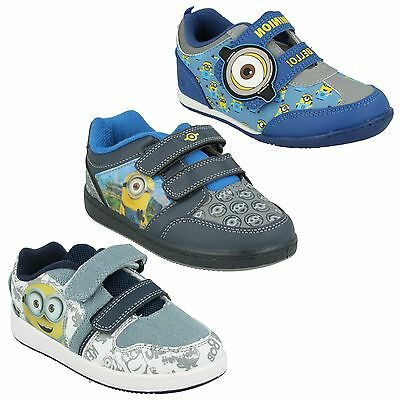 Niños Despicable Me Minion Zapatos cotidiano Zapatillas casual RU Talla 7-1