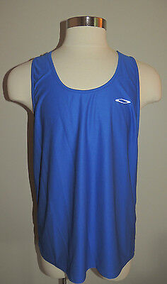 Nwt Fitness Gear Blue 100% Polyester Tank Top Size Xl