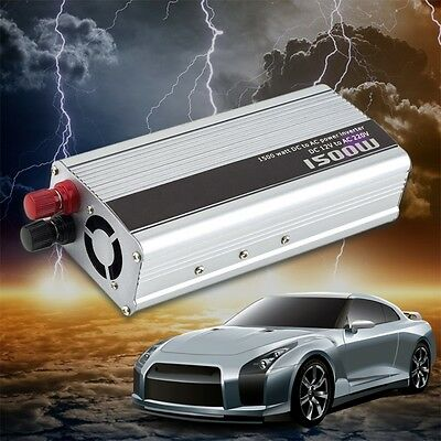 1500W DC 12V à AC220V Power Inverter Chargeur convertisseur électronique FG