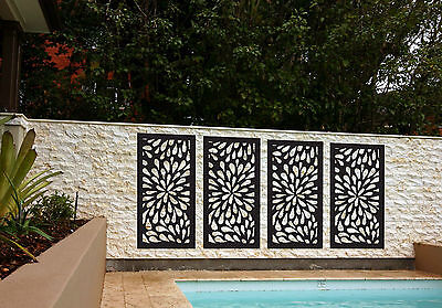 Fill the space with 4 pack indoor outdoor garden decorative privacy screens