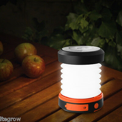 Suaoki Camping LED Lantern USB & Solar Rechargeable Collapsible Light Mini U