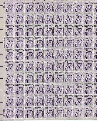 USA-United States 1977 10c Postage Justice by J E Fraser Sheet Scot 1592 MNH