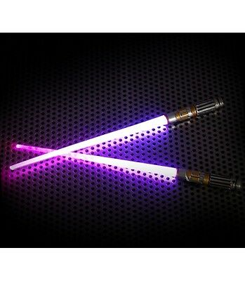 Baguettes sabre laser LED Star Wars Mace Windu