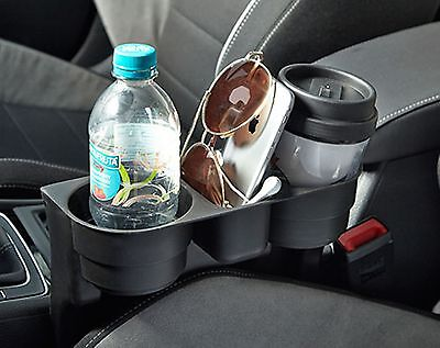 Car Van Cup Holder Storage Compartment Unit Tray Extra Space Vehicle Organiser