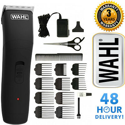 New WAHL 9655-417 Mens Rechargeable Hair Beard Clipper Kit Cordless Trimmer Set