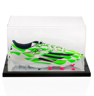 Gareth Bale Hand Signed Football Boot With Acrylic Display Case Autograph