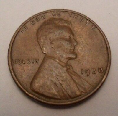 1938 P Lincoln Wheat Cent / Penny  *FINE OR BETTER*  **FREE SHIPPING**