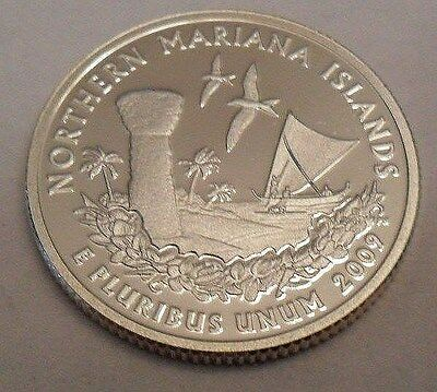 2009 S Northern Mariana  *90% Silver Proof*  Quarter   **free Shipping**