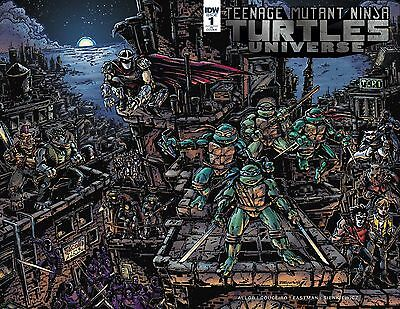 TMNT Universe #1 - 1:25 Retailer Incentive Wraparound Cover by Kevin Eastman!