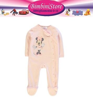 Giubbotto neonata minnie  originale disney rosa