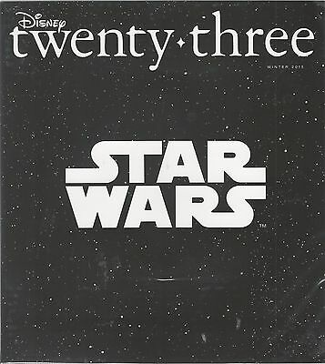 Disney twenty-three 23 Winter 2015 D23 Star Wars The Force Awakens Fantasia NIS