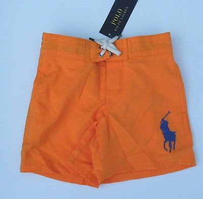 NWT Ralph Lauren Boys Sanibel Big Pony Shorts Swim Trunks Suit 2t 3t 4t NEW $50